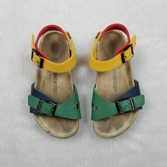 556027a2c Birkenstock Other - RARE Birkenstock Childrens Rio Multicolor Sandal